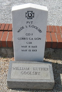 Pvt William Luther Wade Goolsby