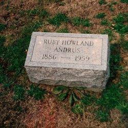 Ruby <i>Howland</i> Andrus