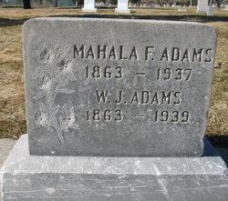Mahala F. Adams