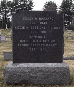 Lizzie M <i>Sessions</i> Barnard