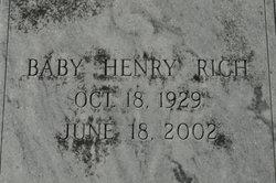 Baby Henry Rich
