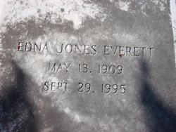 Edna <i>Jones</i> Everett