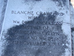Blanche <i>Crawford</i> Anderson