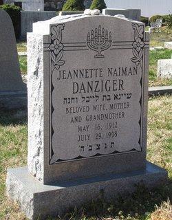 Jeannette <i>Naiman</i> Danziger
