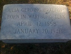 Julia Gerding Bradford