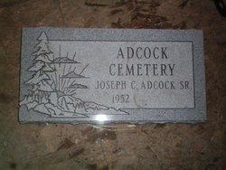 Adcock  Cemetery  Albert Moore farm