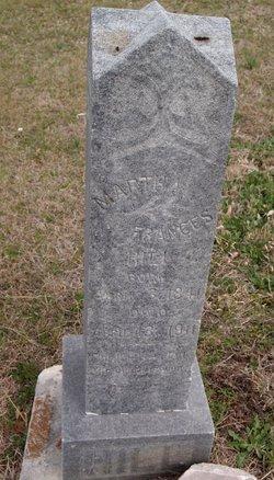 Martha Frances Aunt Martha <i>Coats</i> Hill