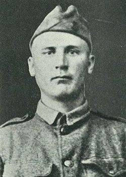 Pvt Olaf Axel Bergquist