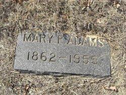 Mary Frances <i>Rose</i> Adams