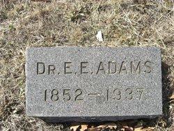Dr Edward Eramus Adams