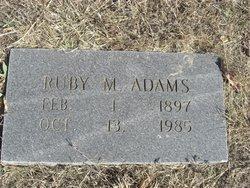 Ruby Marie Adams