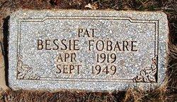 Bessie Sara Pat Fobare