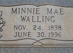 Minnie Mae <i>Parker</i> Walling