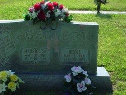 Bessie Rebecca Josephine <i>Barron</i> Garrett