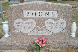 Thurman Dee Boone