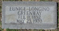 Eunice Annette <i>Longino</i> Greenway