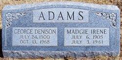 Madgie Irene <i>McCraw</i> Adams