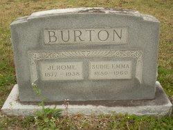 Sudie Emma <i>Lewis</i> Burton