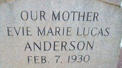 Evie Marie <i>Lucas</i> Anderson