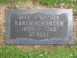 Karen Katherina Carrie <i>Nielsen</i> Hansen