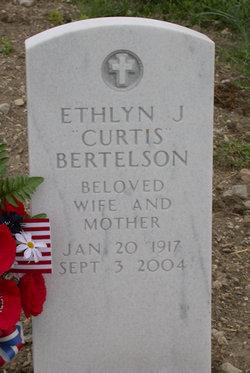 Ethlyn Juanita <i>Curtis</i> Bertelson