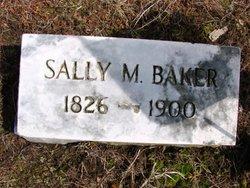 Sally <i>Mosher</i> Baker
