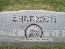 Fern Louise <i>Nelson</i> Anderson