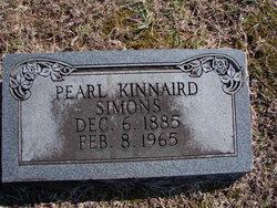 Pearl <i>Kinnaird</i> Simons