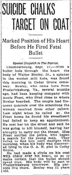 Walter M. Boxley