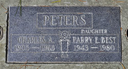 Parry Eleanor <i>Peters</i> Best