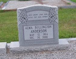Alma <i>Bullington</i> Anderson
