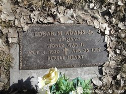 Edgar M Adams, Jr