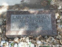 Caroline <i>Larson</i> Albertson