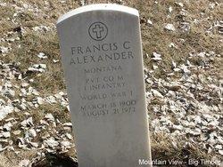 Francis C Alexander