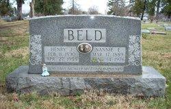 Nannie Elliott <i>Pack</i> Beld