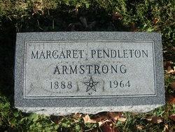 Margaret <i>Pendleton</i> Armstrong