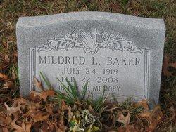 Mildred L Baker