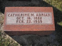 Catherine M Adrian
