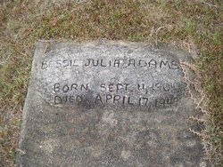 Bessie Julia Adams