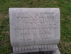 Julia <i>Peete</i> Bate