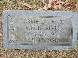 Carrie E <i>Bowen</i> Alvis