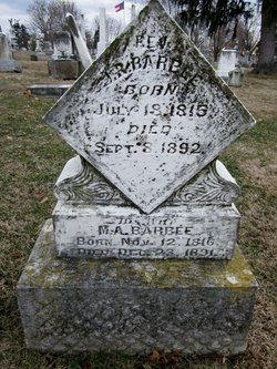 Rev Joseph Russell Barbee