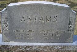 Wynetta <i>Holladay</i> Abrams
