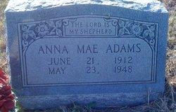 Anna Mae <i>Cunningham</i> Adams