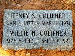 Willie Harrison Culipher