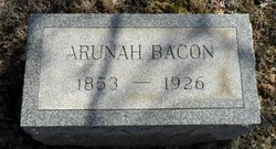 Arunah Bacon