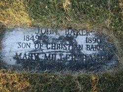 Mary <i>Miller</i> Baker