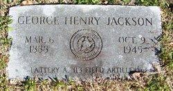 George Henry Jackson