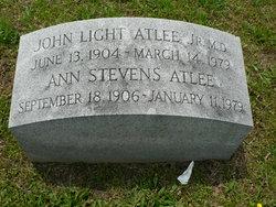 Ann <i>Stevens</i> Atlee