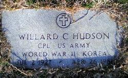 Corp Willard Clemon Hudson